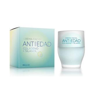 Deliplus Cosmetics Crema facial colageno, Anti-Age Cream with Collagen, 50 ml
