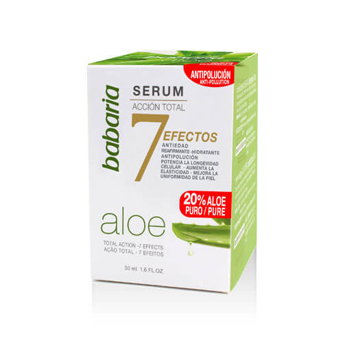 Serum For Face Babaria Total 7 Effects with aloe vera ,50 ml