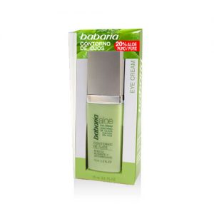 BABARIA CONTORNO DE OJOS, EYE CREAM ALOE VERA, 15 ML