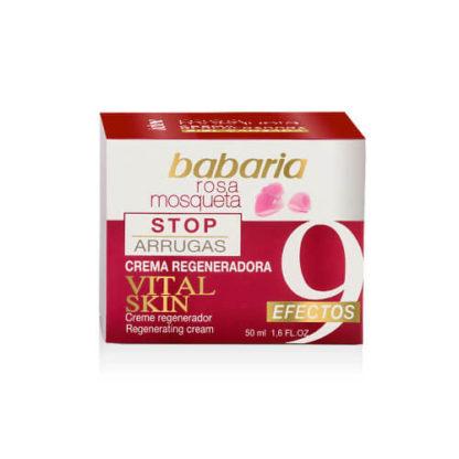 BABARIA Stop arrugas Crema facial vital skin 9 effectos, Regenerating cream,50 ml