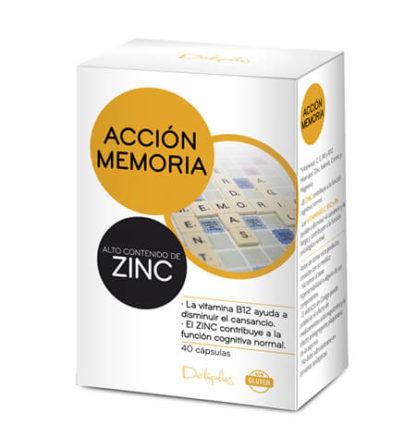 DELIPLUS ACCIÓN MEMORIA Food supplement, 40 CAPSULES