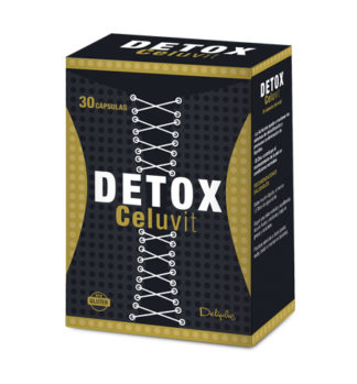 DELIPLUS DETOX CELUVIT Dietary supplement for detox, 30 CAPSULES