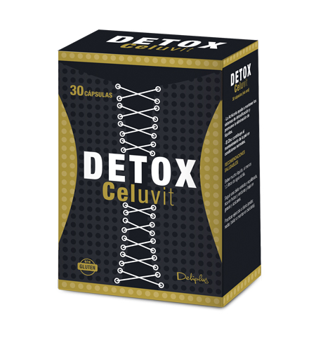 DELIPLUS DETOX CELUVIT Dietary supplement for detox, 30 CAPSULES