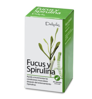 DELIPLUS FUCUS Y SPIRULINA,BIOLOGICALLY ACTIVE ADDITIVE, 60 CAPSULES