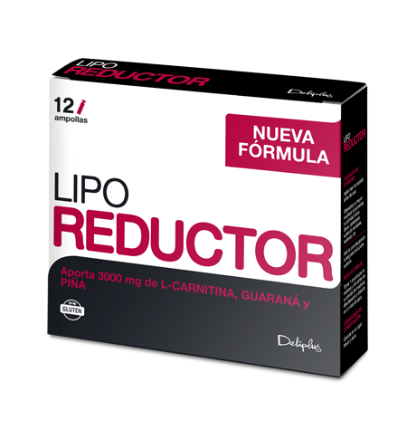 DELIPLUS LIPO REDUCTOR Weight correction food supplement,12 ampoules