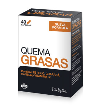 DELIPLUS QUEMA GRASAS Weight correction food supplement , 40 CAPSULES