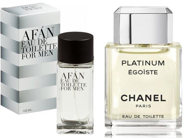 Perfume for men Afán para hombre y Egoïste Platinum de Chanel, 100 ml