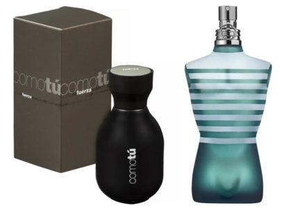Perfume for men Como Tú Fuerza analog Le Male de Jean Paul Gaultier, 100 ml