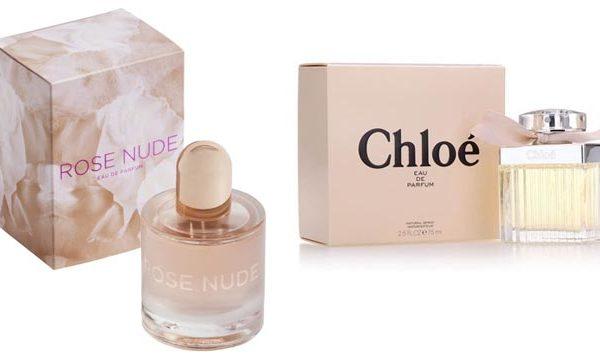 Rose Nude y Chloé de Chloé,Rose Nude y Chloé de Chloé