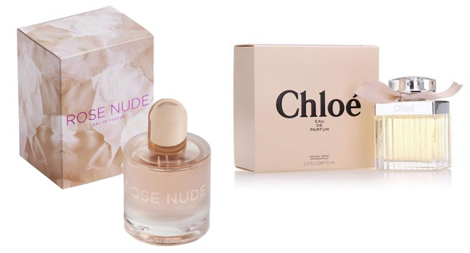 Parfume for women Rose Nude analog Chloé de Chloé, 75 ml