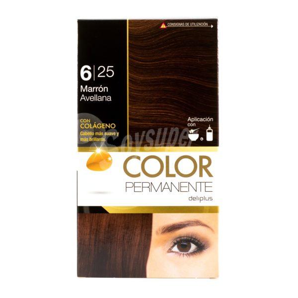 DELIPLUS Color Permanente Nº 6.25 Avellana, Hazelnut