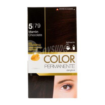 DELIPLUS Color Permanente Nº 5.79 Chocolate