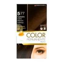 DELIPLUS Color Permanente N5.77 Castaño claro intenso, Intense light chestnut