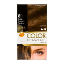 DELIPLUS Color Permanente Nº 6.1 Rubio oscuro, Dark blonde