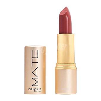 DELIPLUS Barra Labios Mate, matte lipstick Nº7 Brown