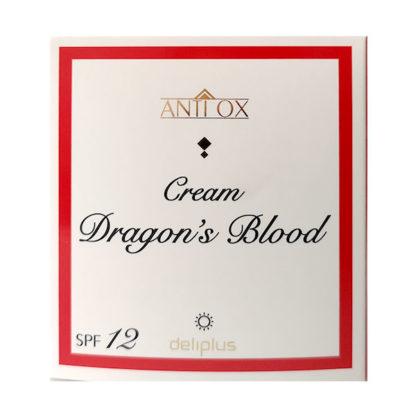 Deliplus ANTIOX Crema Facial Antioxidante y Regenerante Sangre Dragón, Dragon Blood Antioxidant and Regenerating Facial Cream, 50 ml