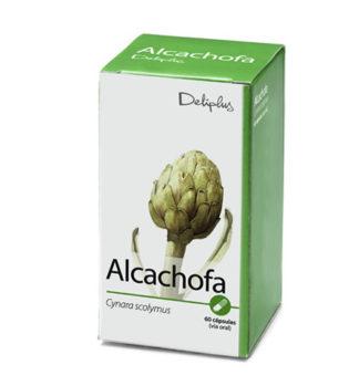 DELIPLUS Cápsulas de alcachofa, Artichoke capsules, 60