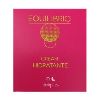 DELIPLUS EQUILIBRIO Crema Hidratante, Moisturizing Cream, 50 ml